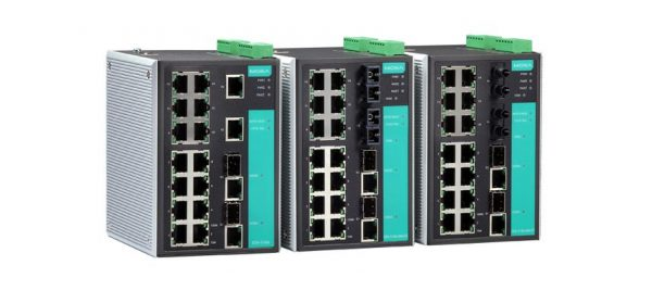 Image of EDS-518A - Industrial grade managed ethernet switch
