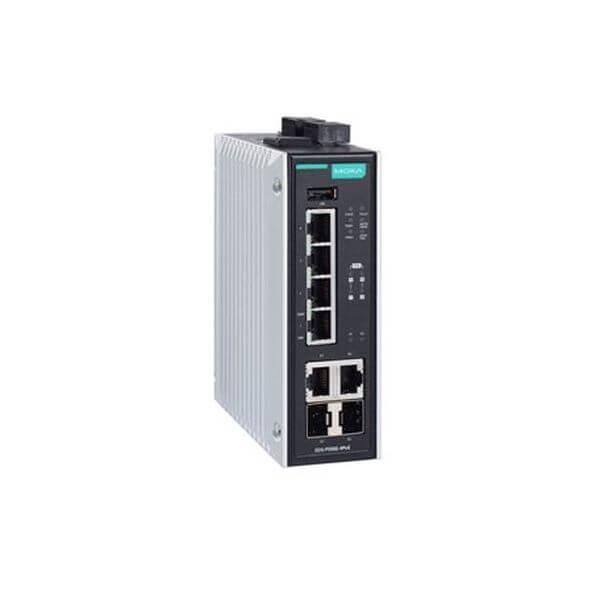 EDS-P506E-4+2G-port Gigabit PoE+ managed Ethernet switch