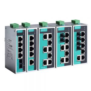 Image of EDS-205A/EDS-208A - industrial unmanaged switch