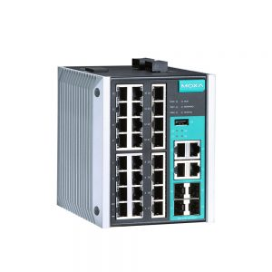 Image of EDS-528E - Industrial grade managed ethernet switch