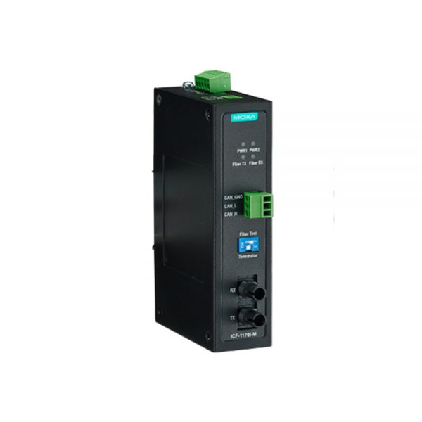 image of ICF-1170i - CAN Bus to Fiber converter