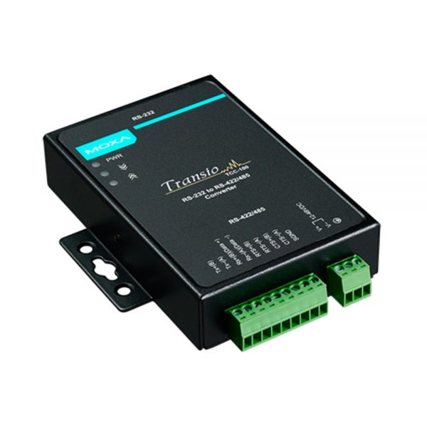 photo of TCC-100I - Isolated RS232 to RS485 converter,