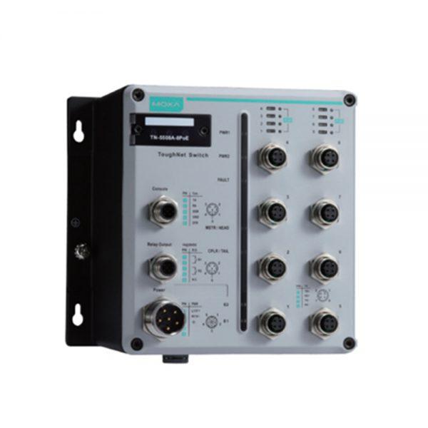 Image of TN-5508A-8POE -EN50155 POE Switch for rolling stock applications