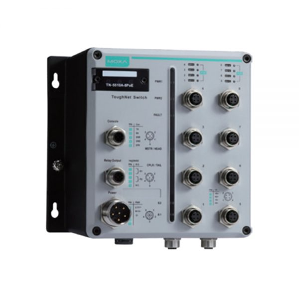 image of TN-5510A - EN50155 POE Switch for rolling stock applications