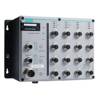 TN-5516A-8POE - EN50155 POE Switch for rolling stock applications