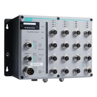 Image of TN-5518A-8POE - EN50155 POE Switch for rolling stock application