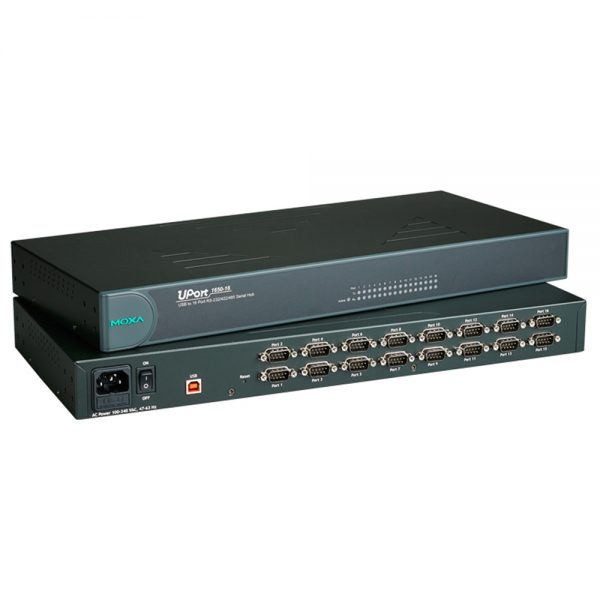 Image of UPORT 1650-16 - USB To Serial converter with 16 serial ports
