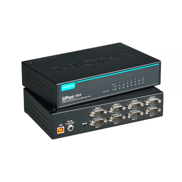 image of UPORT 1650-8 - USB to serial converter with 8 Serial (RS-232/422/485) ports