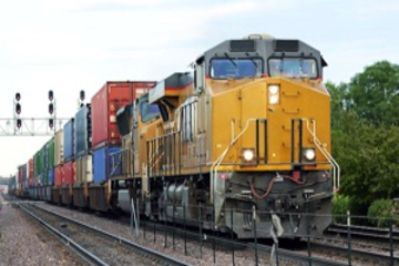 Speed Up Freight Transportation by Using Ethernet-Connected Trains