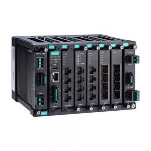 Image of MDS-G4028 -modular Layer 2 industrial ethernet switch