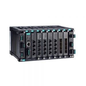 Image of MDS-G4028 , Industrial grade Modular managed Ethernet switch with upto 28 Ports