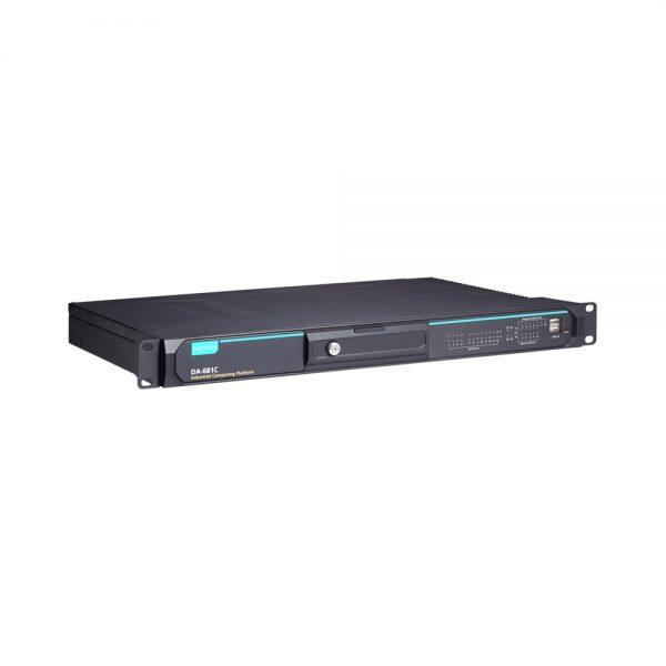 Image of DA-681C - IEC-61850 certified computer, 1U rackmount computer having 6 Gigabit Ethernet ports, 12 isolated serial ports