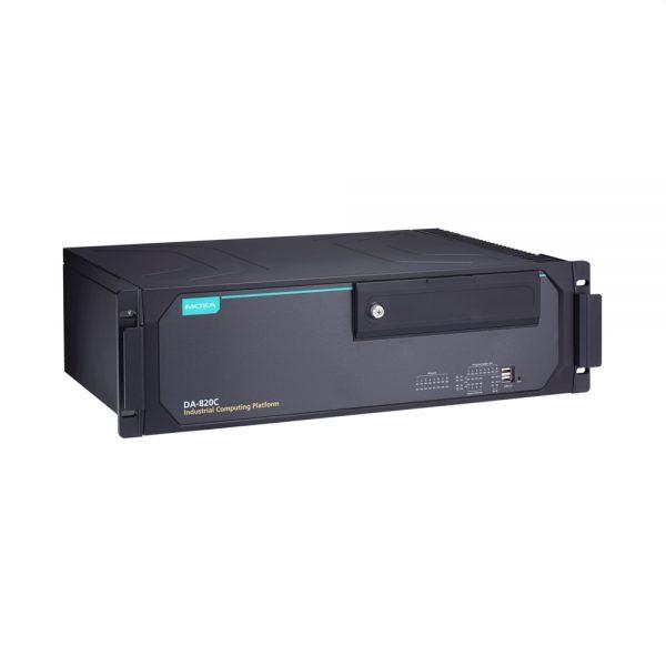 Image of DA-820C - Industrial computer, IEC-61850 compliant, 3U rackmount computer with PRP/HSR card support