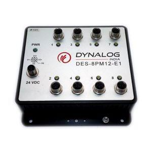DES 8MP12-E1 - Unmanaged MIL Grade Switch